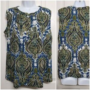 PerSeption Concept women's sleeveless blouse